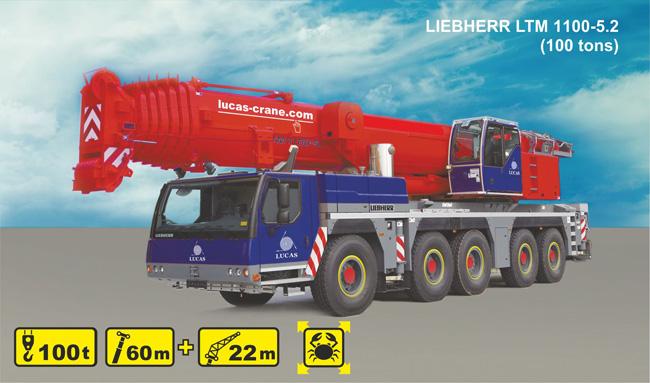 LIEBHERR LTM 1100-5 1
